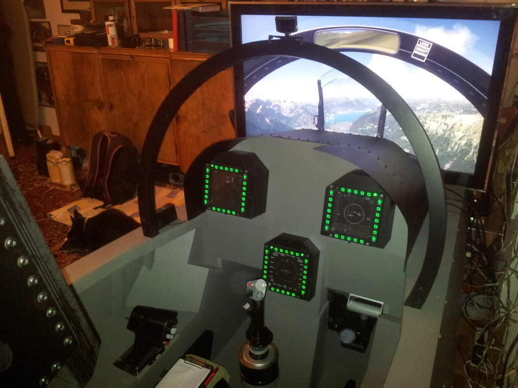My F A 18c Cockpit Fa 18 Simulator